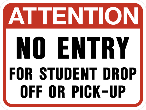 Student Drop Off and Pick-Up